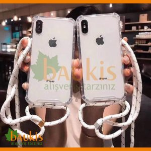 APPLE-iPHONE-11-PRO-MAX-BOYUN-ASKILI-İPLİ-SİLİKON-KILIF