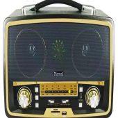 Nostalji Radyo Kemai Md-1701BT Bluetooth+FM radyo+USB+SD KART