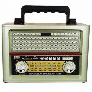Md-1705bt Ahşap Görünüm Klasik Radyo