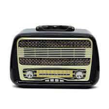 Bluetoothlu Kemai Md-1902 Dekoratif Ve Nostaljik Bluetooth Radyo