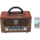 Meier M-115BT Bluetootlu-Kumandalı USB/SD/MP3 Çalar Şarjlı Radyo