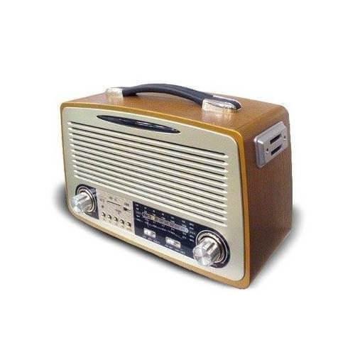 Nostalji Radyo Kemai Md-1700BT Bluetooth+FM radyo+USB+SD KART