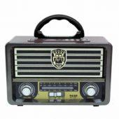 M-113BT Şarjlı Nostaljik Bluetooth Fm Radyo